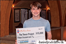 BC/EFA donates $15,000 to The Trevor Project in honor of Daniel Radcliffe