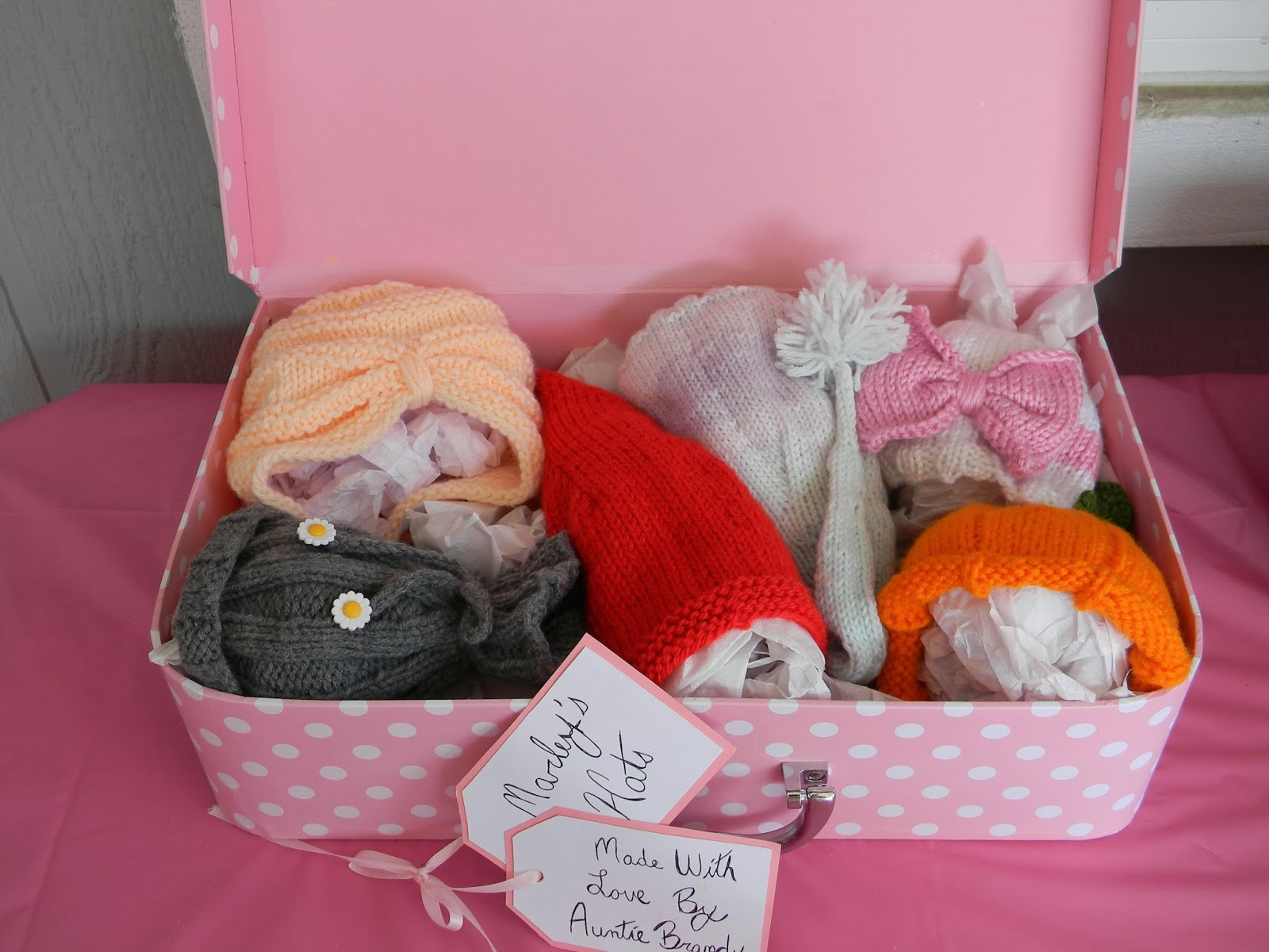 Brandy s Creations  Box of Homemade Knitted Baby Hats 7e5cd5547c0d