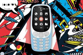 "Nokia 3310 Ponsel versi ""reborn"" Internet 4G Wifi Hotspot"