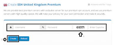 Membuat Akun SSH Premium Di situs BestVPNSSH