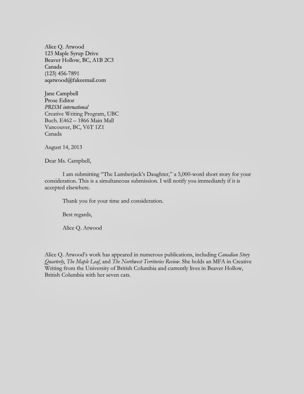 Unsolicited Application Letter For Secretary   Professional     Teaching Abroad Cover Letter Lawteched