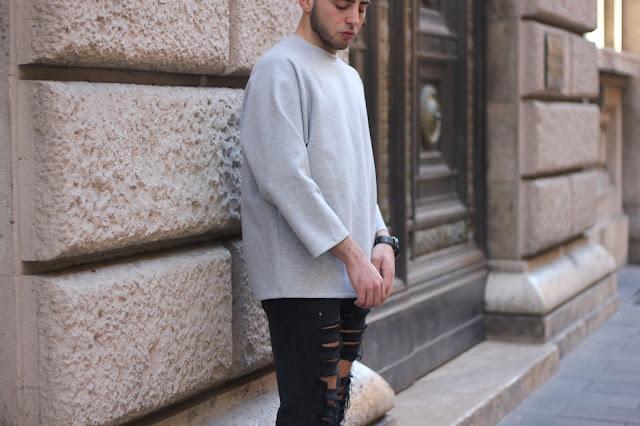 maglione in poliestere