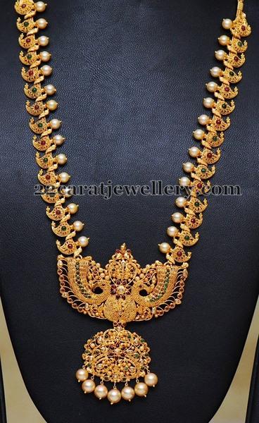 Light Weight Mango Mala Jewellery Designs