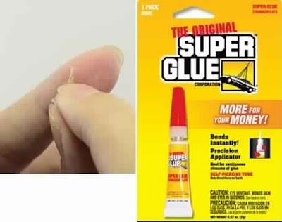 Comment enlever de la glu sur la peau