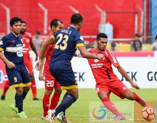 Skor Akhir Semen Padang FC vs Persela Lamongan 1-0