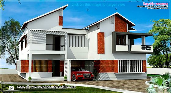 Contemporary laterite house