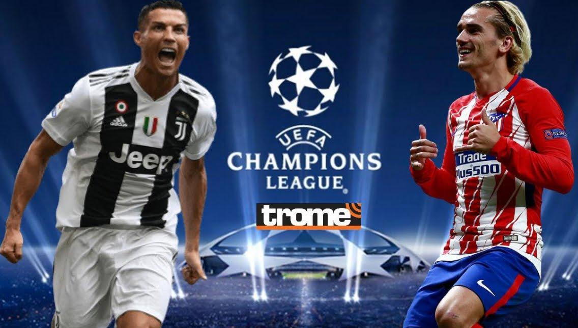 Dove Vedere JUVENTUS Atletico Madrid Streaming: Video Diretta Online in chiaro o su Sky?