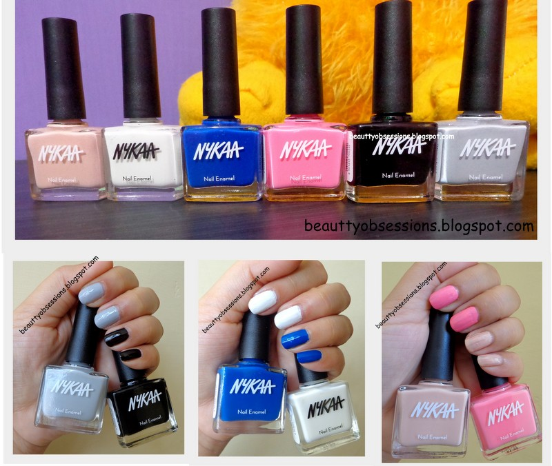 Beautiful Nail Polishes, Coming All From NYKAA - Review & Swatches ...