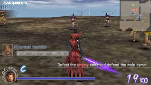 Samurai Warriors PSP
