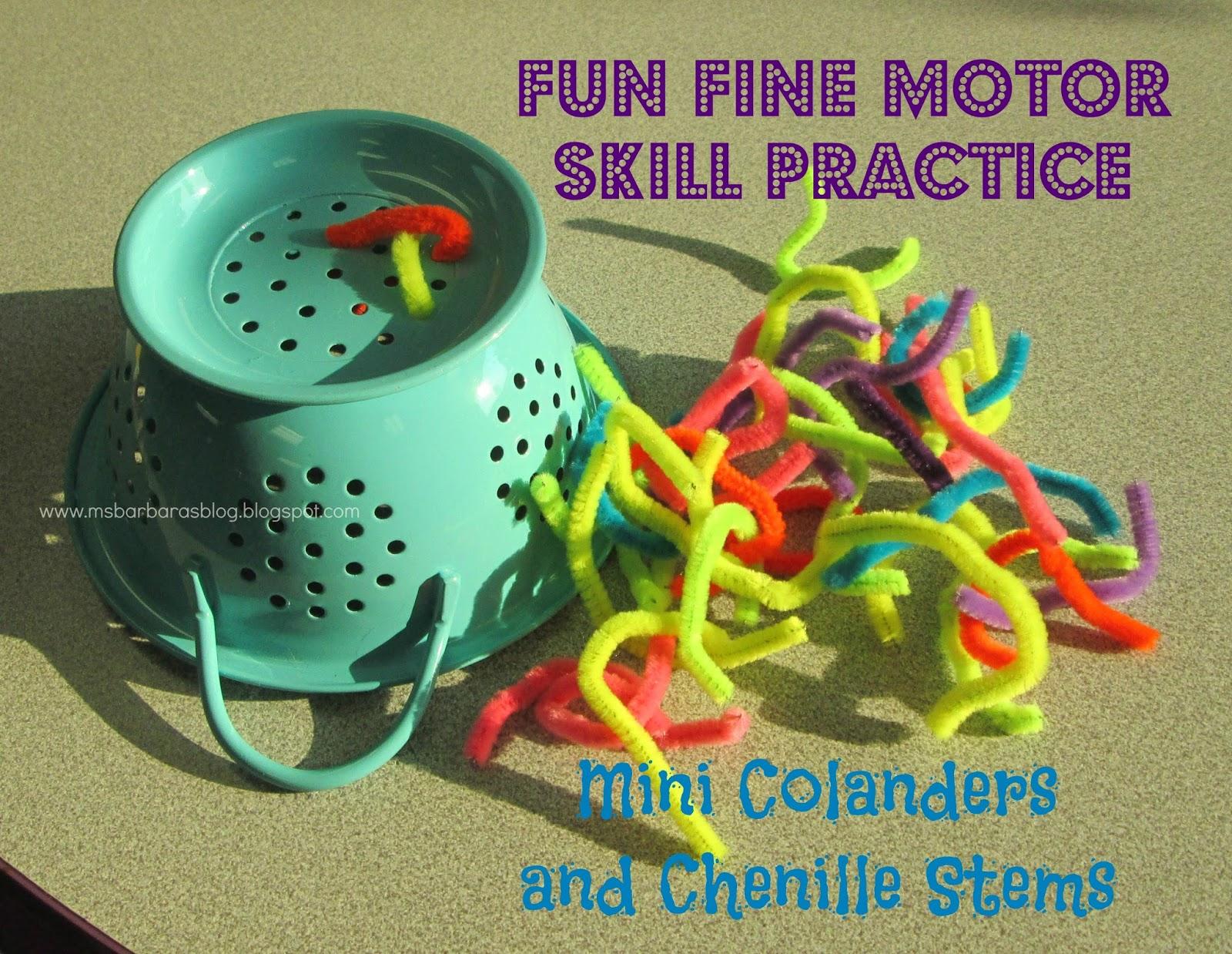 For The Children Fun Fine Motor Skill Practice Mini