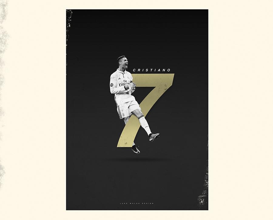 Cristiano Ronaldo Luke Walsh