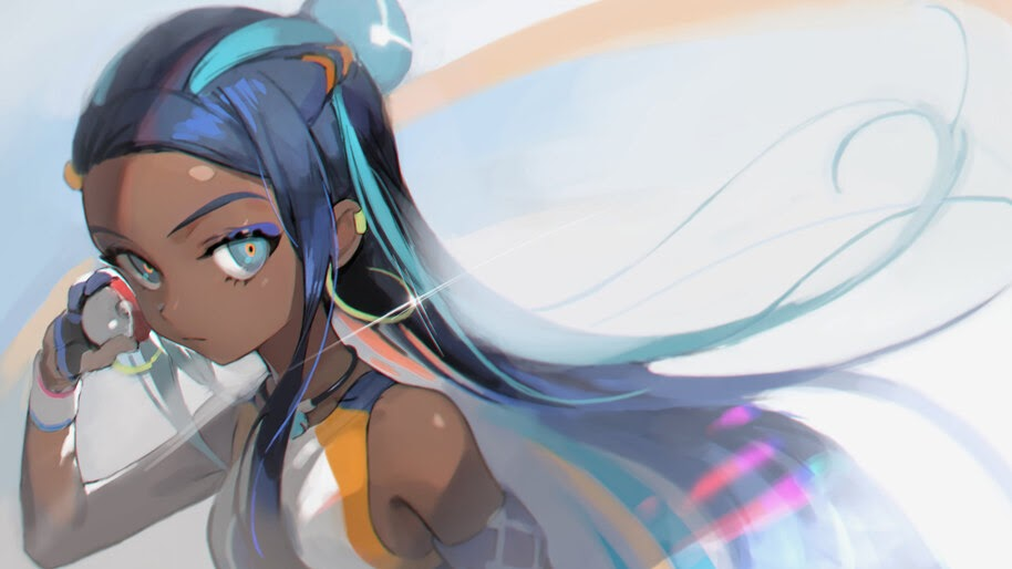 Nessa, Pokemon Sword and Shield, Gym Leader, 4K, #3.1361