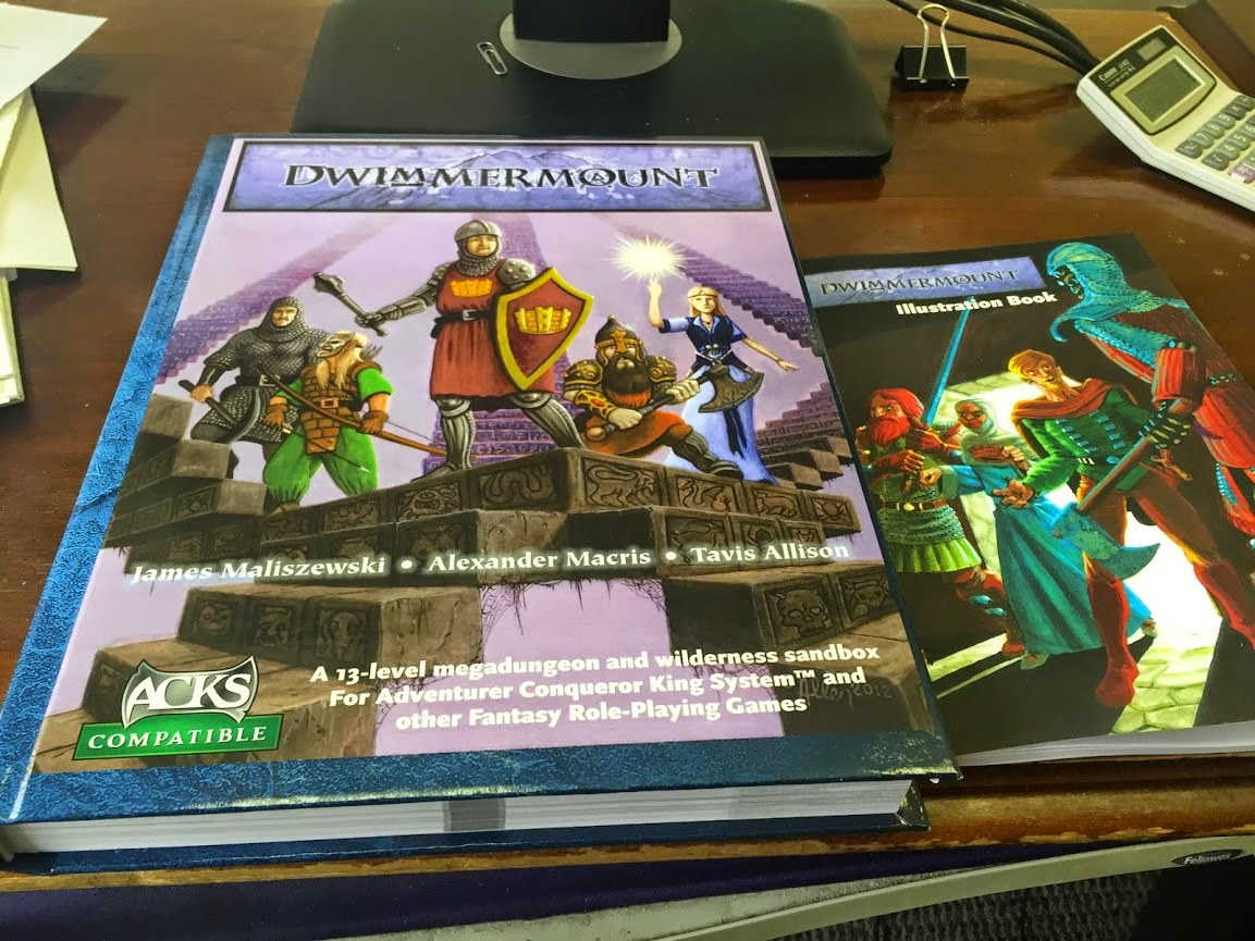 Dwimmermount Book and Illustration Book