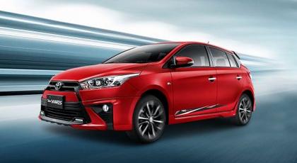 Mobil Toyota Yaris Tulungagung