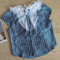 https://laukkumatka.blogspot.com/2018/06/royhelopusero-frilly-blouse.html