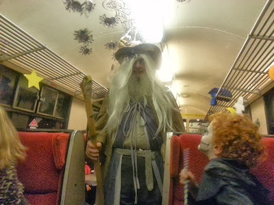 East Lancs Railway Halloween Ghost Train