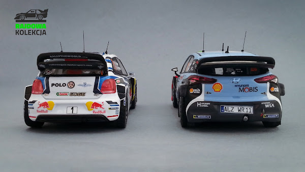 WRC 2016 - IXO RAM621 & RAM624 - VW Polo R WRC i Hyundai i20 NG WRC