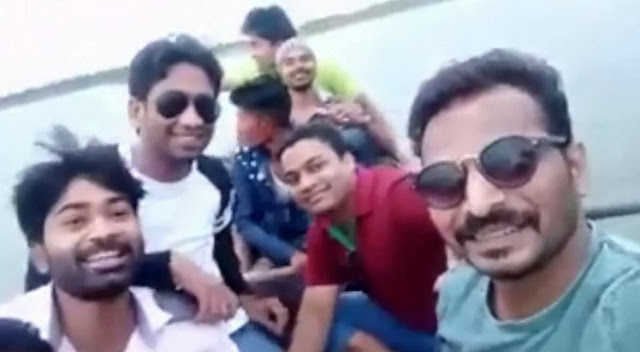 Seven Friends Drown While Taking Selfie For LIVE Facebook Recording