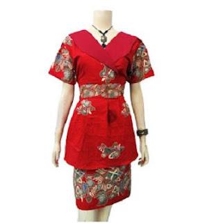 Model Baju Batik Modern untuk Kerja Modis