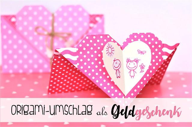 Herz-Kuverts für Geldgeschenke - somejoys