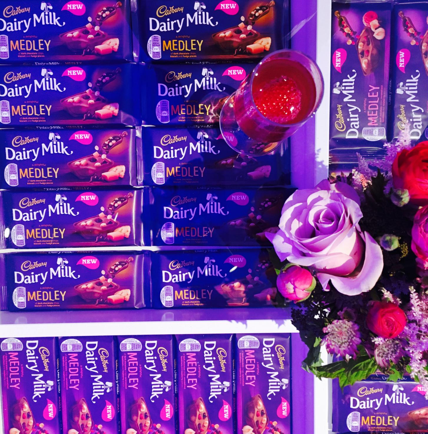 Lifestyle Cadbury Dairy Milk Medleys Beauty Lounge Katie Snooks