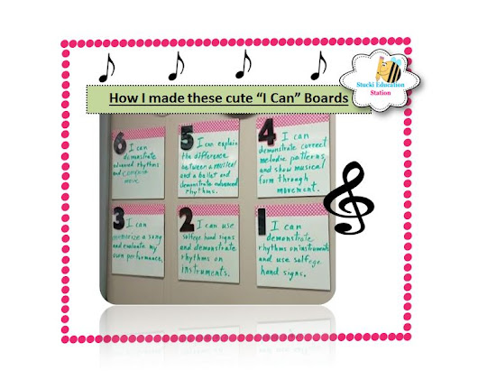 "Looking for ""I Can"" Music Statements?"