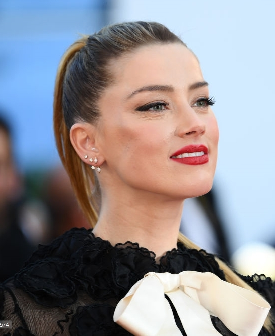 Amber Heard Cannes inspired makeup