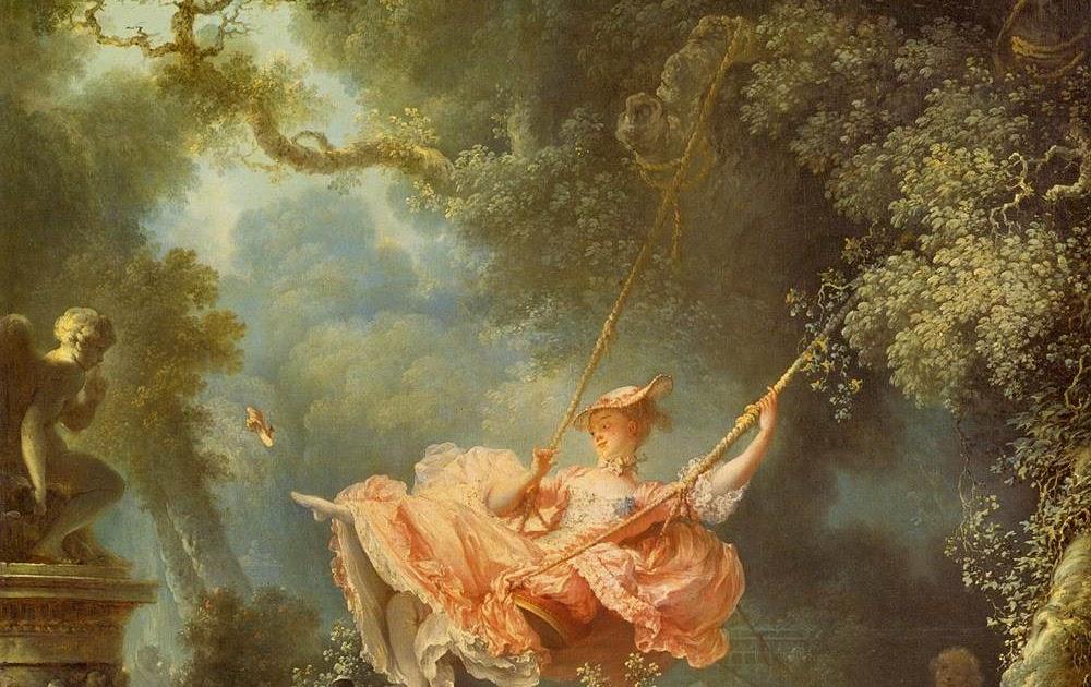 ARTgentona: Fragonard. El gronxador