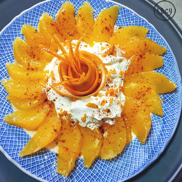 Naranja Con Nata/ Orange And Cream