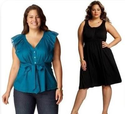 model baju atasan untuk orang gemuk