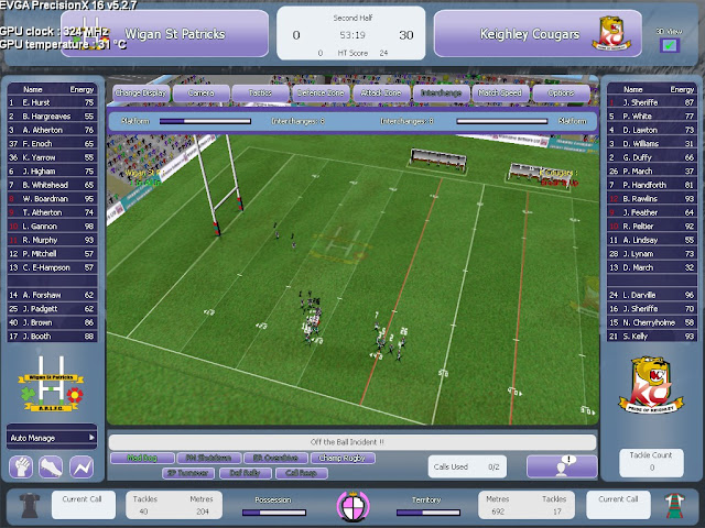 Rugby Union Team Manager 2015 PC Full Version Screenshot 3