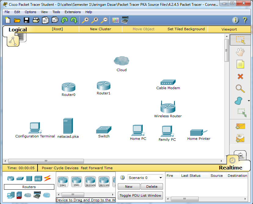 Belajar Coding : 4.2.4.5 Packet Tracer - Connecting a Wired and ...
