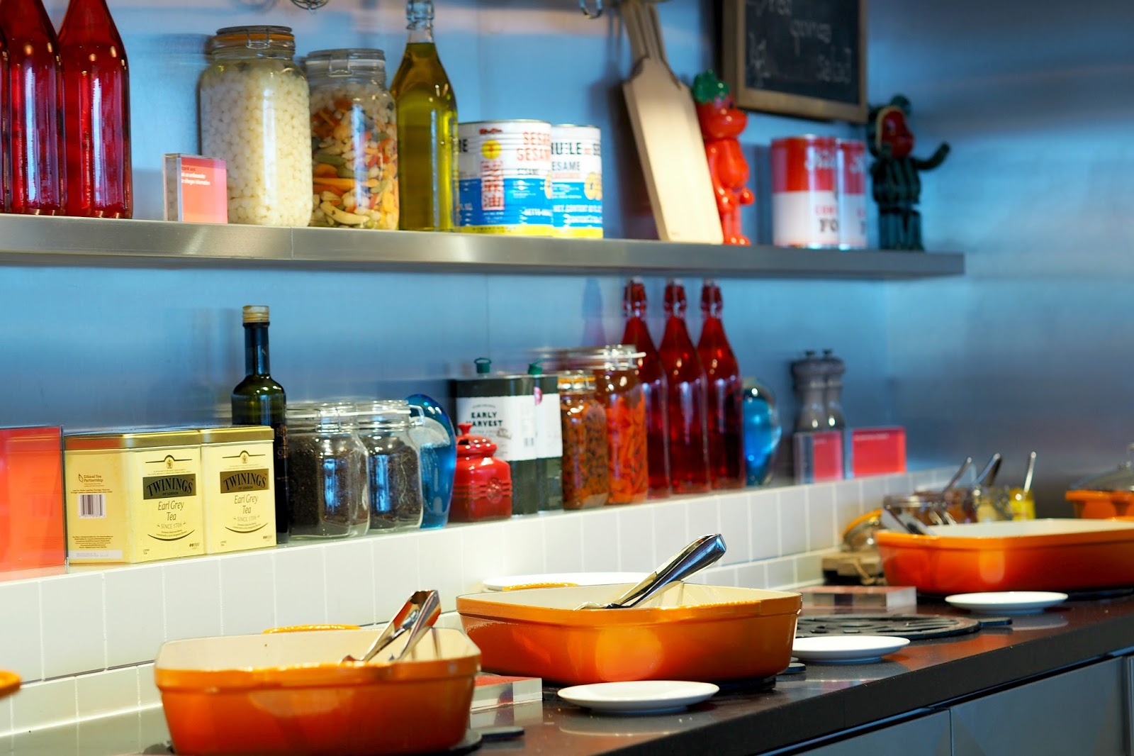 citizenm shoreditch breakfast spread review