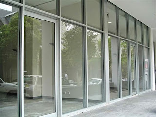 gambar kusen jendela aluminium