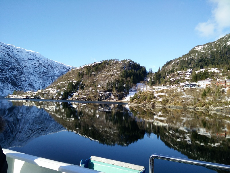Fjord cruise Norway