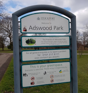 Adswood Park in Cheadle Hulme, Stockport