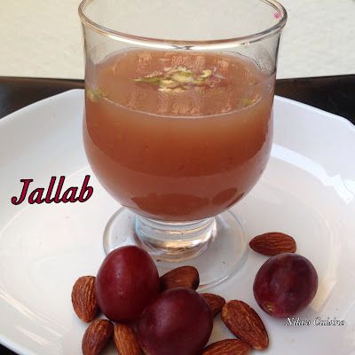 Jallab / Grape Dates Cooler/ Arabic Iftar Drink