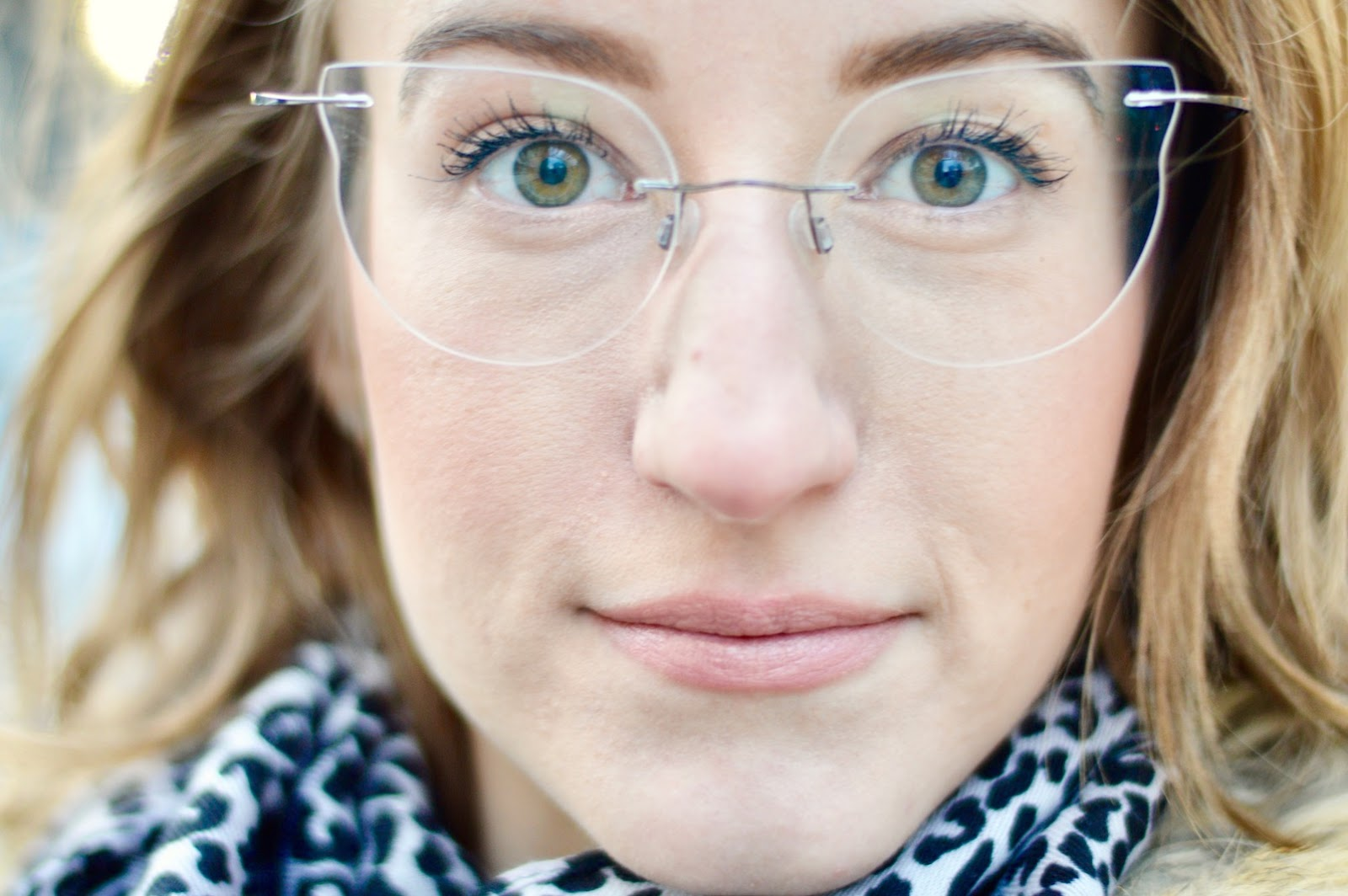 Frameless glasses women