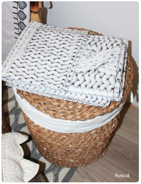 Plaid tricot de Becquet