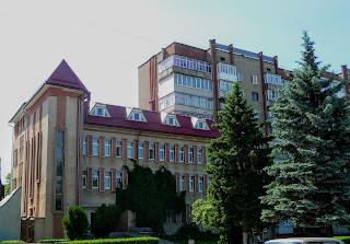 Калуш. Административное здание со стороны майдана Шептицкого