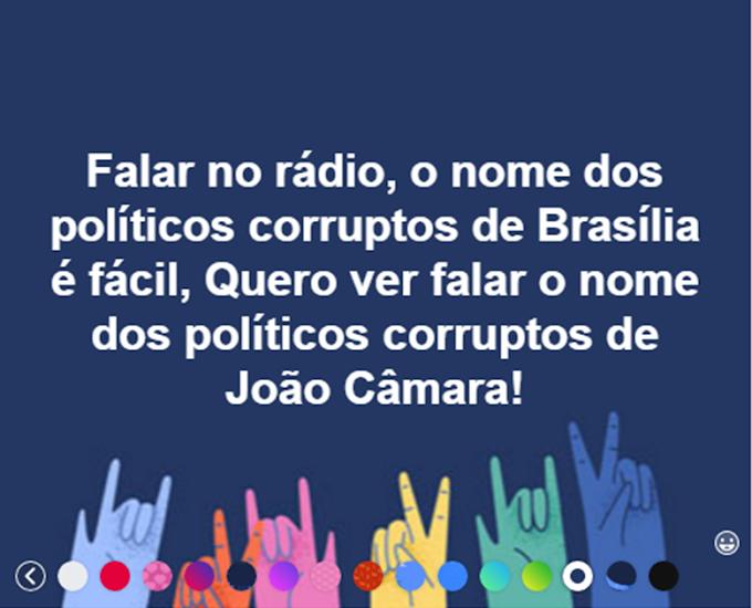 """""""Oh baixa Verde Boa"""" Alguns Políticos corruptos de João Câmara são tão corruptos quanto os Políticos Corruptos de Brasília."""