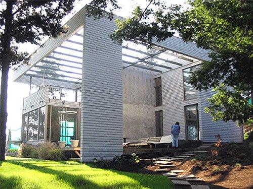 Fotos de casas im genes casas y fachadas for Casa moderna blanca