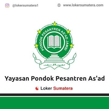 Lowongan Kerja Jambi: Yayasan Perguruan Pondok Pesantren As'ad Juni 2021