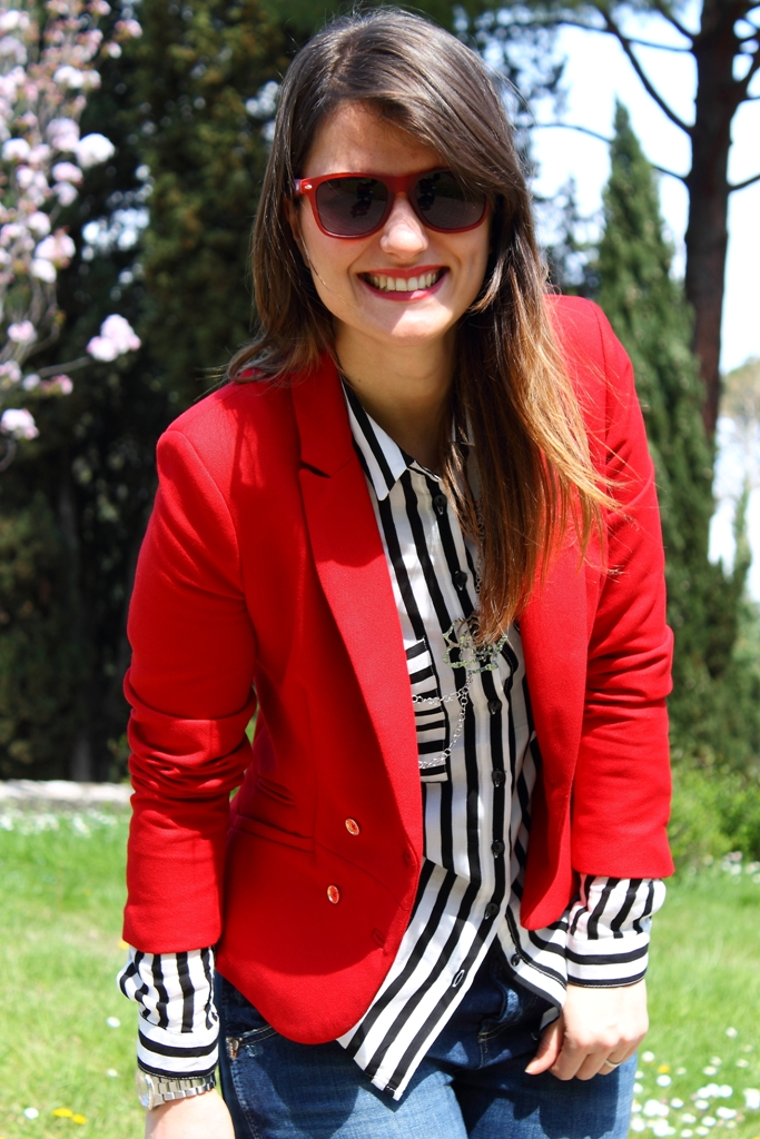 Estremamente MayLoveFashion: Stripes and red RC21