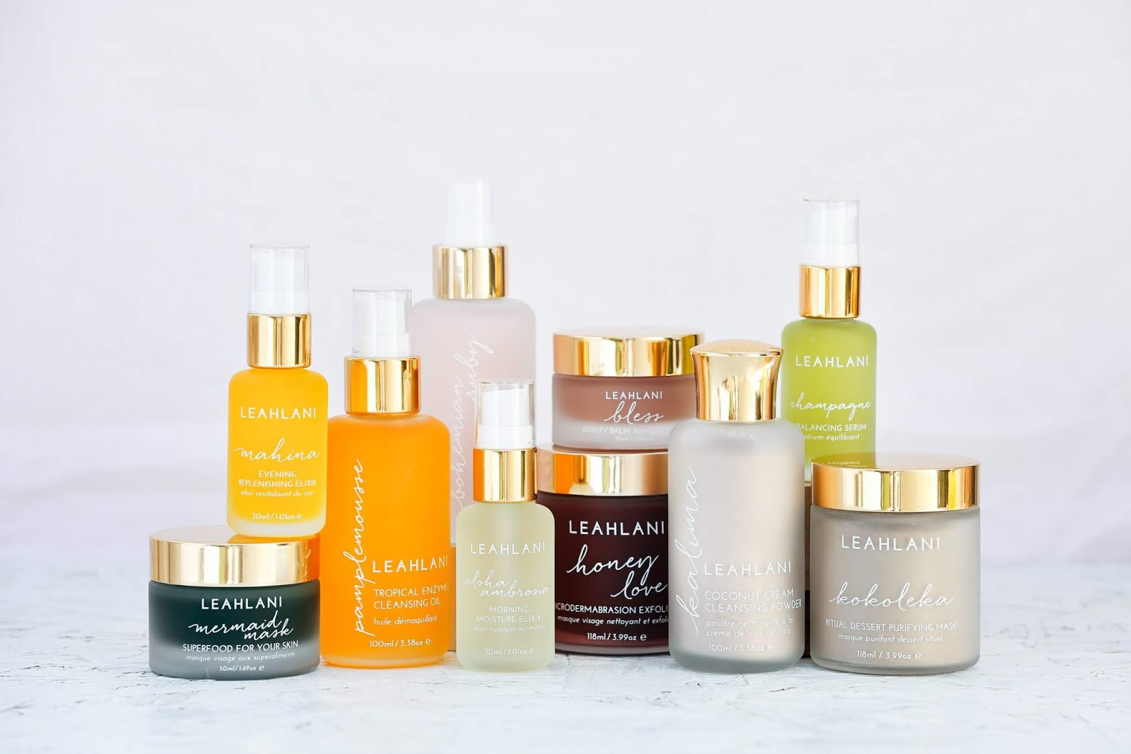 Leahlani Skincare NEW look, summer 2018