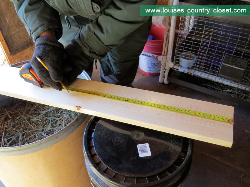The Country Rabbit Ranch Diy Rabbit Wood Nest Box