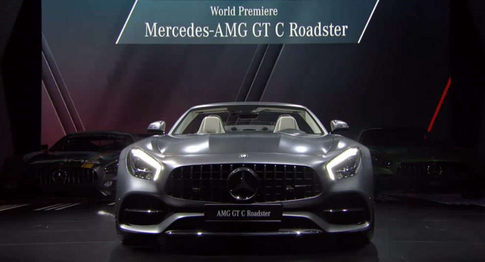 Watch Mercedes-Benz's Paris Auto Show Media Night Presentation
