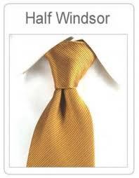 Cara memasang | mengikat dasi Simpul Half Windsor