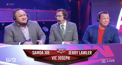 WWE Joe Vic Joseph Jerry Lawler Raw NXT Injury