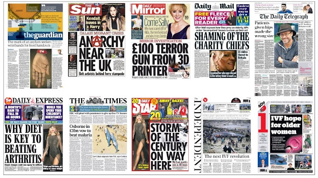 front pages jan 25